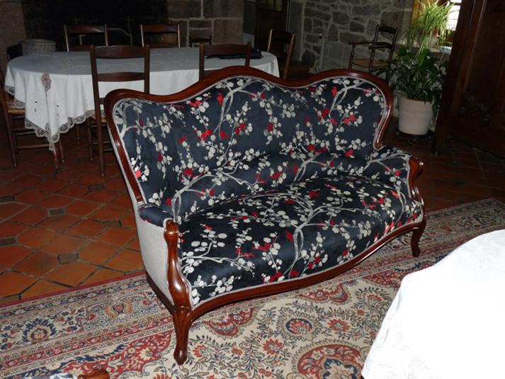 Salon acajou lignes d 39 art restauration de meubles anciens for Restauration de meubles anciens